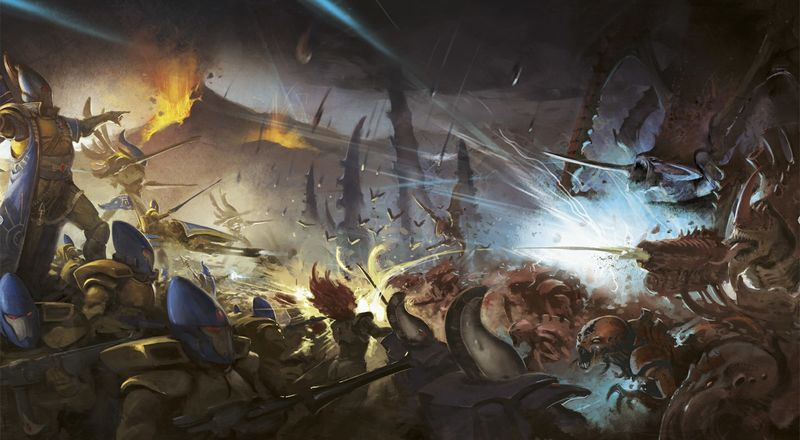 File:Eldar Iyanden Army wage war against Tyranids.jpg
