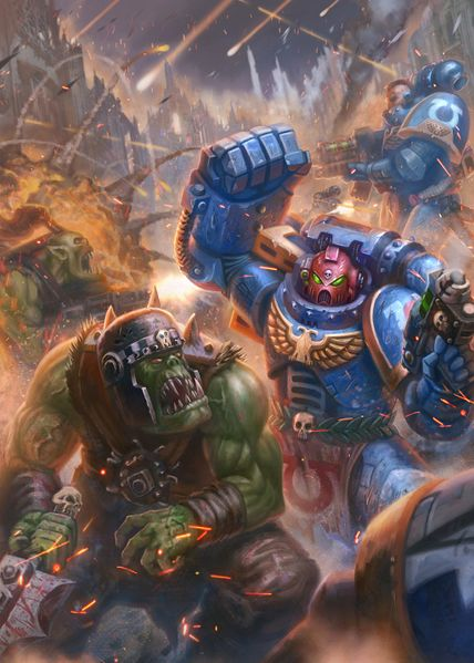 File:Space Marines Vs Orks 2017.jpg